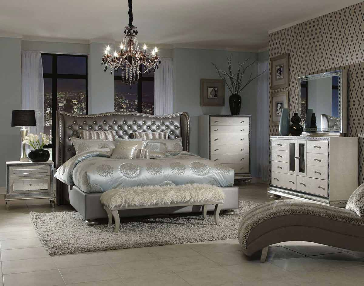 Hollywood Swank Bedroom Suite from Catrina;s Ranch Interiors