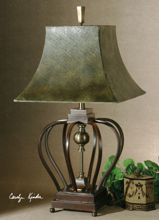 Morrisa table lamp from Catrina's Ranch Interiors