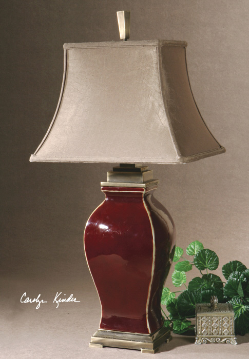 Rory table lamp from Catrina's Ranch Interiors