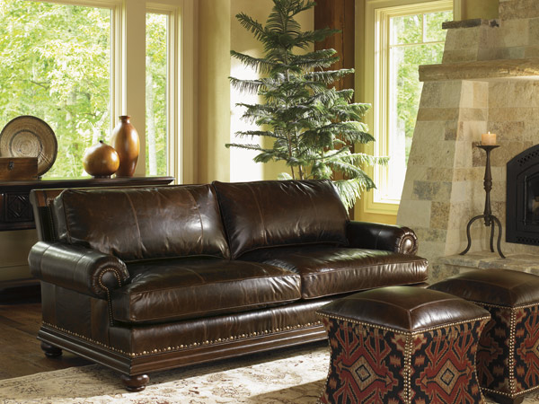 Chambers Leather Sofa