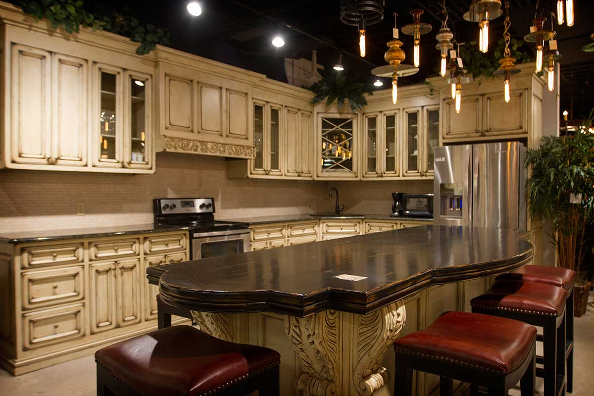 Showroom Kitchens and Cabinets