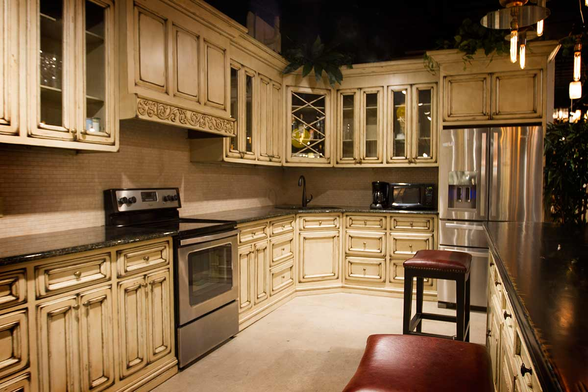 Kitchens and Custom Cabinets