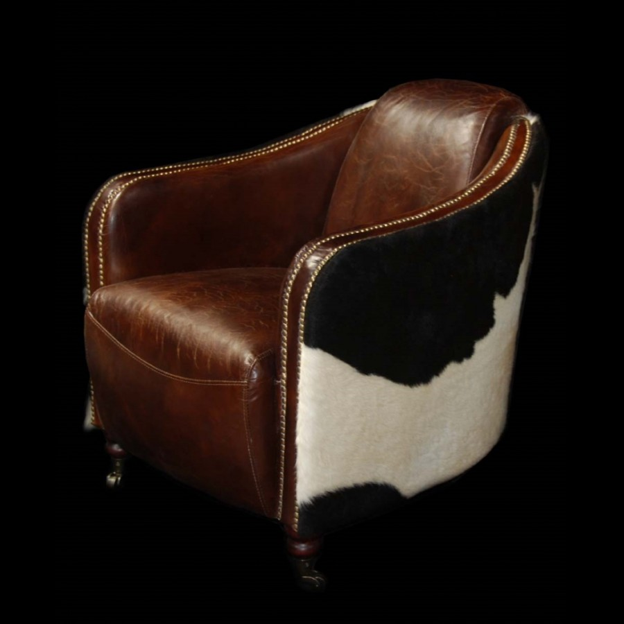 Jupiter Leather Arm Chair