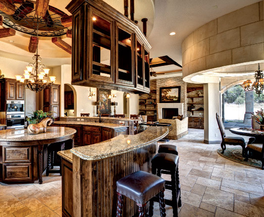 Catrina's Ranch Interiors Kitchen